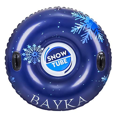 Bayka Inflatable Snow Tube Rapid Valves Round Heavy Duty